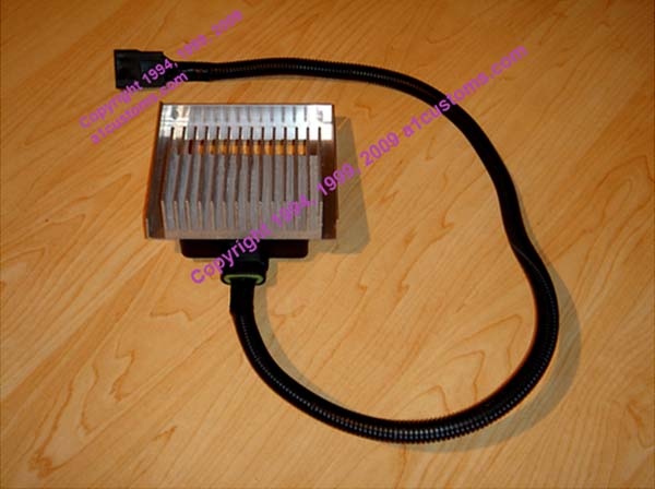 PDC/PMD/FSD Pump Driver Cooler for GM 6.5 Diesel & Turbo Diesels, 6.5 liter, Copyright 1994, 1999, 2001, 2009 IAEI/a1customs.com